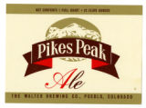Pikes Peak Ale Label
