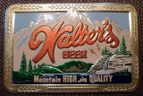 The Walter Brewing Company Commercial Art Sign